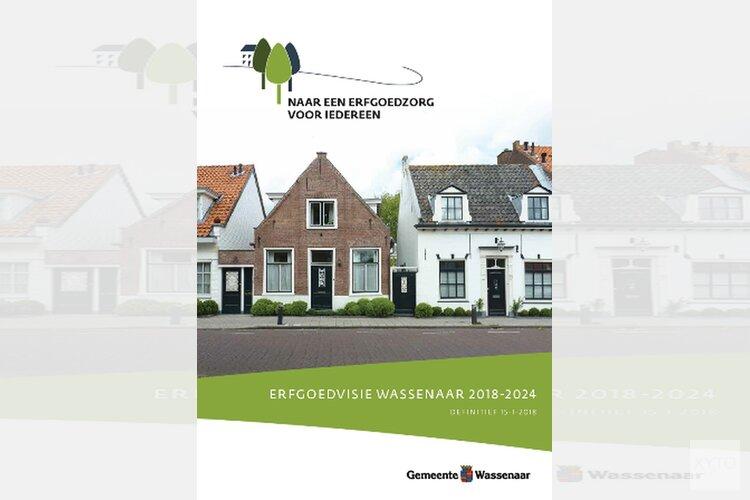 Erfgoedvisie Wassenaar 2018-2024 door college vastgesteld