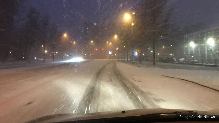 Plaatselijk glad door sneeuwbuien: KNMI geeft code geel af