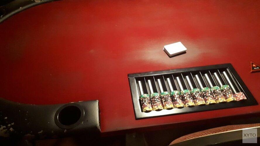 Illegaal pokertoernooi opgerold