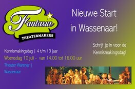 Nieuwe start Fantasia Theatermakers: nu in Wassenaar!