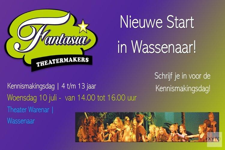 Nieuwe start Fantasia Theatermakers: nu in Wassenaar!