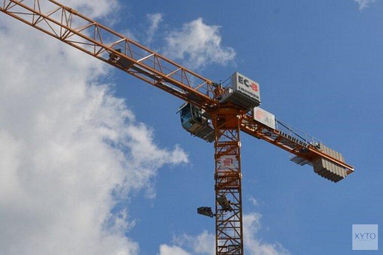 Demonstratie bouwsector 30 oktober: drukte in de binnenstad van Den Haag