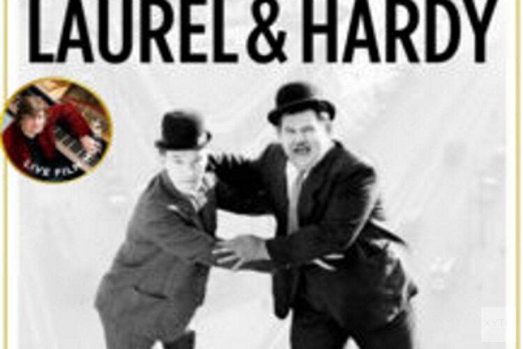 Laurel & Hardy beleven in sfeer van oude Astra bioscoop