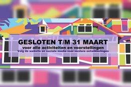 Warenar dicht t/m 31 maart