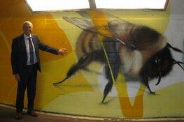 Muurschilderingen in tunnels fietsroute Zoetermeer naar Zee zijn afgerond