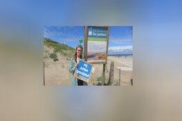 Viering drie jaar Grondstofjutters voor een schoner Wassenaars strand tijdens World Cleanup Day