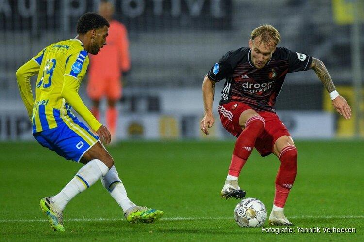 Feyenoord laat dure punten liggen in Waalwijk