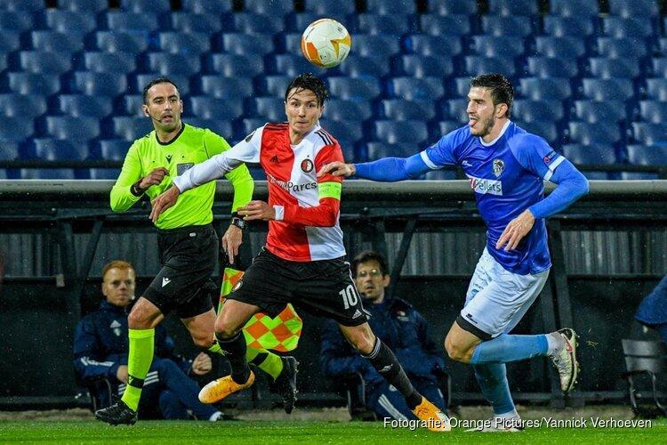 Vroege strafschoppen nekken Feyenoord tegen Wolfsberger AC