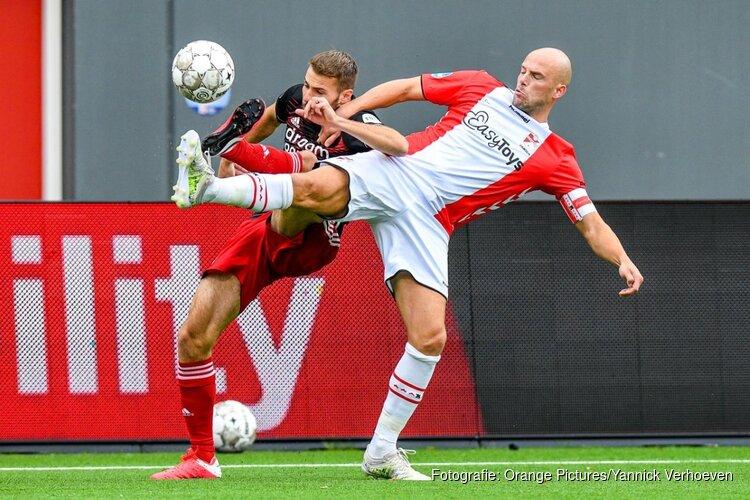 Feyenoord in extremis langs tien man van FC Emmen