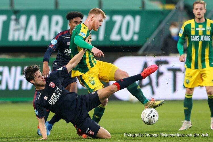 ADO Den Haag mag even hopen, maar FC Twente pakt de zege
