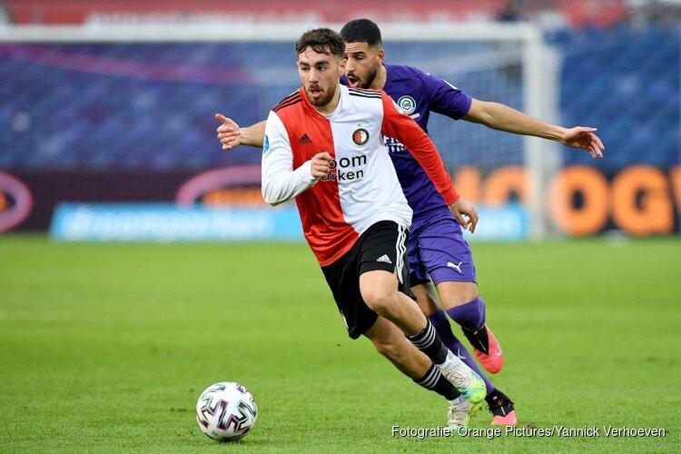 Standaardsituaties helpen Feyenoord langs FC Groningen