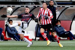 Feyenoord start 2021 met winst in Rotterdamse derby