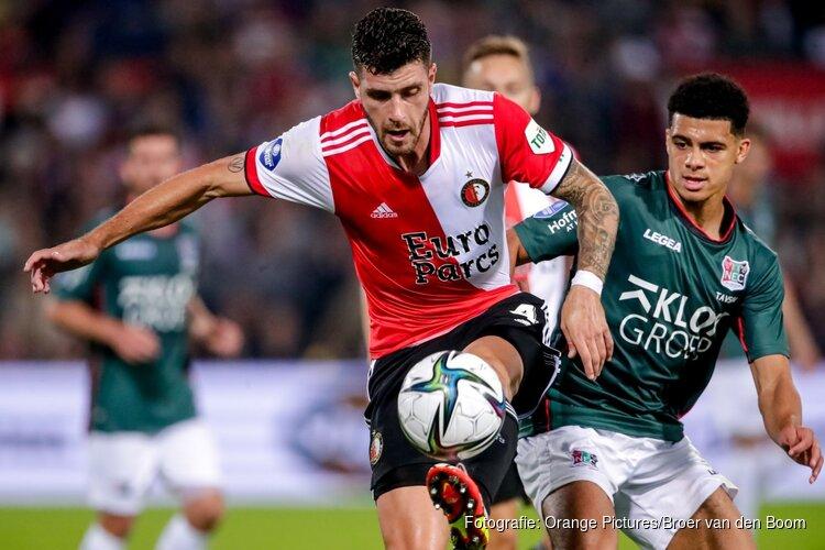 Feyenoord vloert NEC in slotfase van doelpuntrijk duel